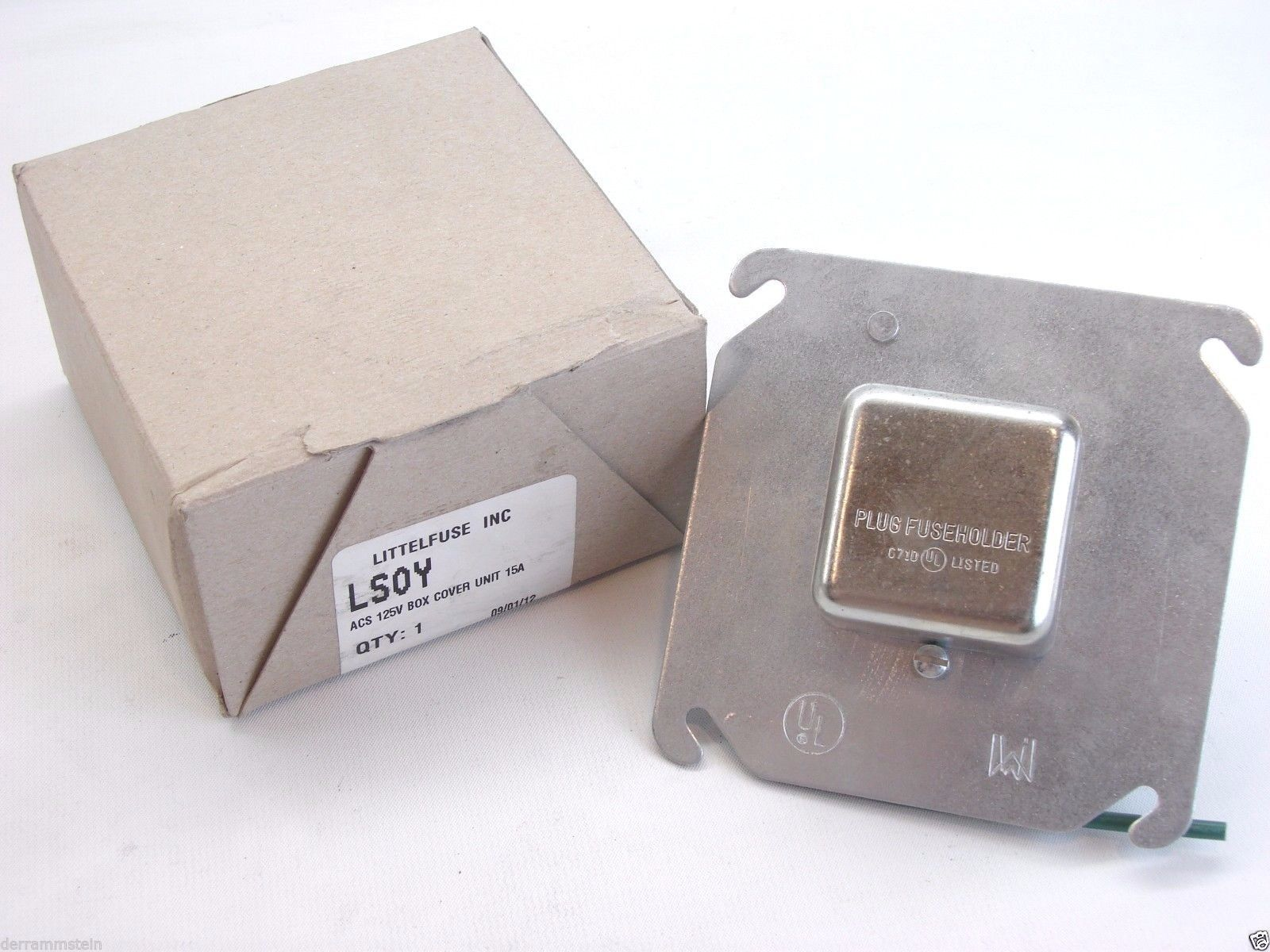 Littelfuse Lsoy Series 4x4 Box Cover Unit And Similar Items Single Fuse With Pole Holder New B216