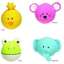 Grriggles Noggins Dog Toys Ball  Toy Pet  Fleece Tennis Ball - £6.79 GBP