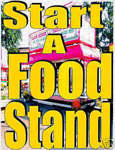 Mobile Food Stand Concession Trailer Busness Make Money