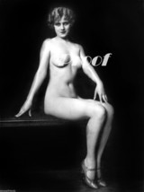 Lovely Photo Glamour Girl Old French Nude Vintage Antique Reprint 351 8x... - $8.90