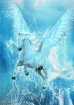 Female Pegasus – Full of Love and Light – Beautiful Lapis Lazuli Pendant - $199.00