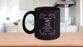 Mother's Day 2018 - Black Coffee Cup - $12.95