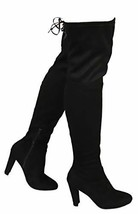 Wild Diva AMAYA-01 Women's Thigh High Stretch Boot - Trendy High Heel Sh... - $34.27