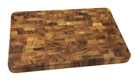 "Ironwood Gourmet Acacia Wood 20""X14""X1.25"" Large End Grain Prep Cutting ... - $93.55"