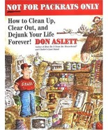 Not for Packrats Only: How to Clean Up, Clear Out, and Live Clutter-Free... - $3.99