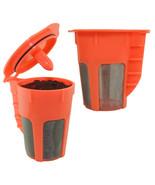 Keurig 2.0 k carafe k cups refillable k cup  coffee filter reusable carafe 2 pack thumbtall