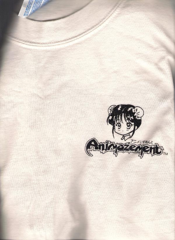 Fushigi Yuugi / Yugi Animazement Promo Shirt *Size L * ANIME
