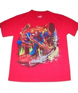 SPIDER-MAN Marvel Mad Engine 100% Cotton T-SHIRT/ Youth Size LARGE -10/12 - $14.99
