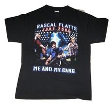 "RASCAL FLATTS Tour 2006 ""ME AND MY GANG"" T-SHIRT/ Adult Size Medium NEW - $14.99"