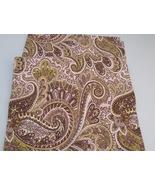 """57"""" Square Fabric Remnant - Premier Prints Classic Paisley   D #061715-9 - $5.99"""
