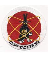 USAF 523rd TAC FTR Tactical Fighter Squadron Patch - $9.99