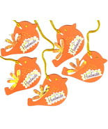 Tags For Handmade Products 6 Pk Orange Handmade Merchandise Hang Tags Birds - $2.00