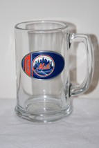 New York Mets MLB 12 oz Tankard Stein Mug Glass - $9.99