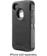 Otterbox Defender Series Apple IPhone 4 4s Black  Black Belt Clip 77-18581 - $24.99