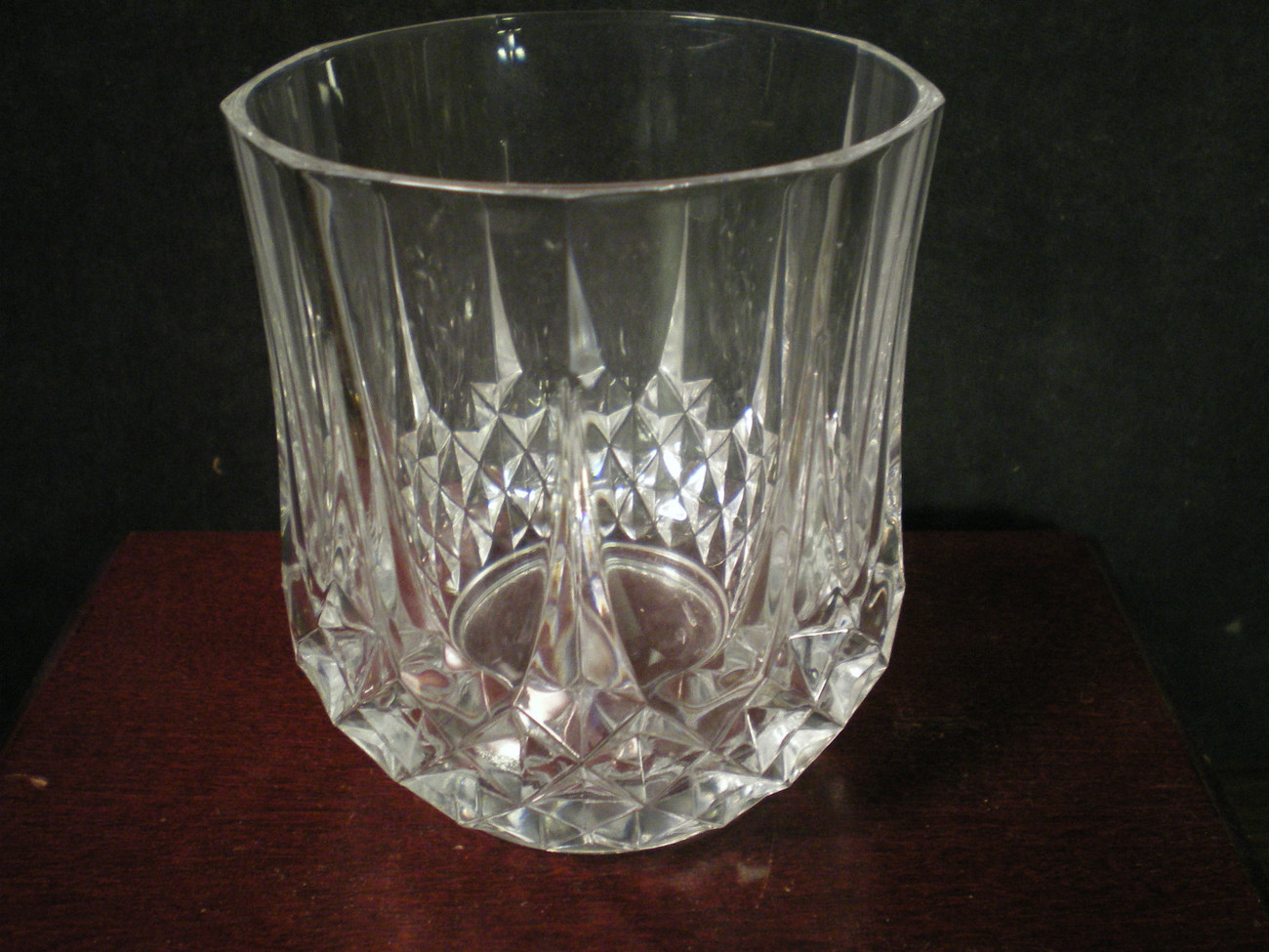 Primary image for 9 CRISTAL d'Arques J.G. Durand Longchamp Large Double Old Fashions~~set of 9