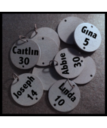 Family Birthday Sign Disks - Lettered - $6.50