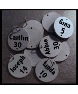 Family Birthday Sign Disks - Lettered - $6.50