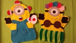 Minion Silly Puppets - $11.99