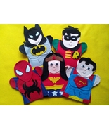 Super Hero Puppets - $30.00