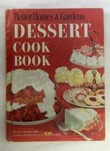 Better Homes & Gardens Dessert Cookbook 1960 Over 400 Recipes Hardcover Vintage - $19.57