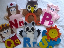 Alphabet Puppets - $29.99
