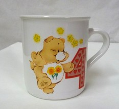 Care Bears #4 Birthday Child Mug American Greetings Designer Collection ... - $16.63