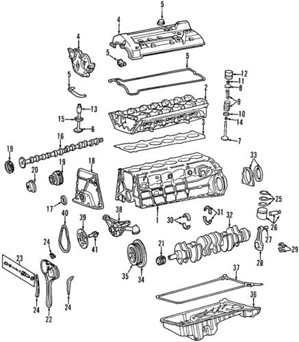 Genuine Mercedes-Benz Intake Gear 104-050-12-47