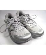 COGENT Walking Shoes Sneakers Nano Silver Womens Size 9.5/42 EUC - $9.79