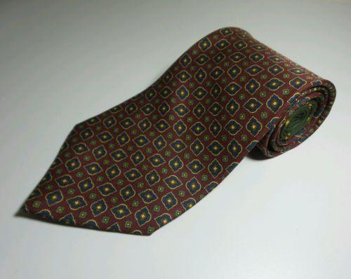 Men's Tie 100% Silk by Tommy Hilfiger USA made