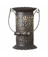 PRAIRIE new electric Wax Warmer in Black Punched Tin - $38.00