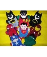 Super Hero Puppets - $40.00