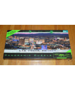 Las Vegas, Nevada Panoramic 750 Piece Puzzle  Glow in the dark Complete - $9.95