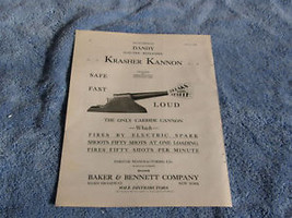 1930 DANDY ELECTRIC REPEATING KRASHER KANNON MA... - $64.99