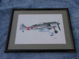 FOCKE WULF 190A-8 ART PRINT FRAME & MATTE READY... - $64.74