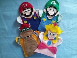 Super Mario hand Puppets - $25.00