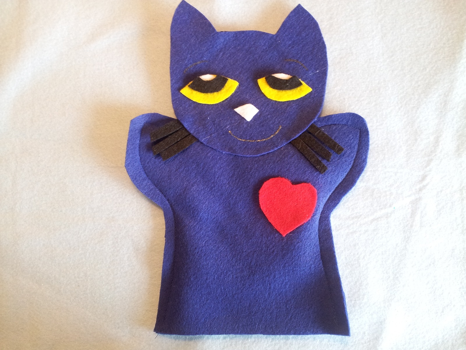 Pete cat hand Puppet