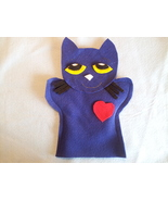 Pete cat hand Puppet - $5.99