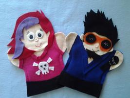Singer Rocker Hand Puppets - $11.99