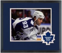 Doug Gilmour 1993-94 Toronto Maple Leafs - 11x14 Team Logo Matted/Framed Photo - $43.55