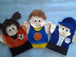 Sport Puppets - $16.99