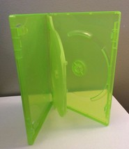 Used Green Double Dvd Cd Game Case For Xbox - $3.95
