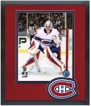 Mike Condon 2016 NHL Winter Classic- 11 x 14 Team Logo Matted/Framed Photo - $42.95