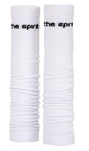 Spirit Sleeve Med Sleeve Slip On Solid White Arm Warmers Sleeves One Size New - $13.55