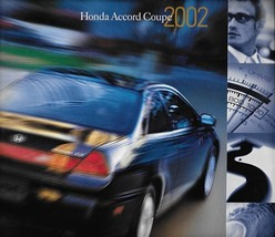 2002 Honda ACCORD COUPE sales brochure catalog US 02 LX EX V6 - $6.00