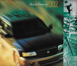 2002 Honda PASSPORT sales brochure catalog US 02 LX EX V6 4WD Rodeo - $8.00