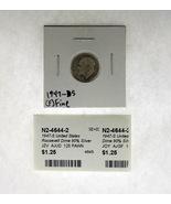 1947-S United States Roosevelt Dime 90% Silver Rating :(F) Fine - $1.67 CAD