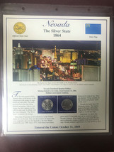 2006 Nevada State Quarter P& D Mint - Postal Commemorative Society State... - $6.25