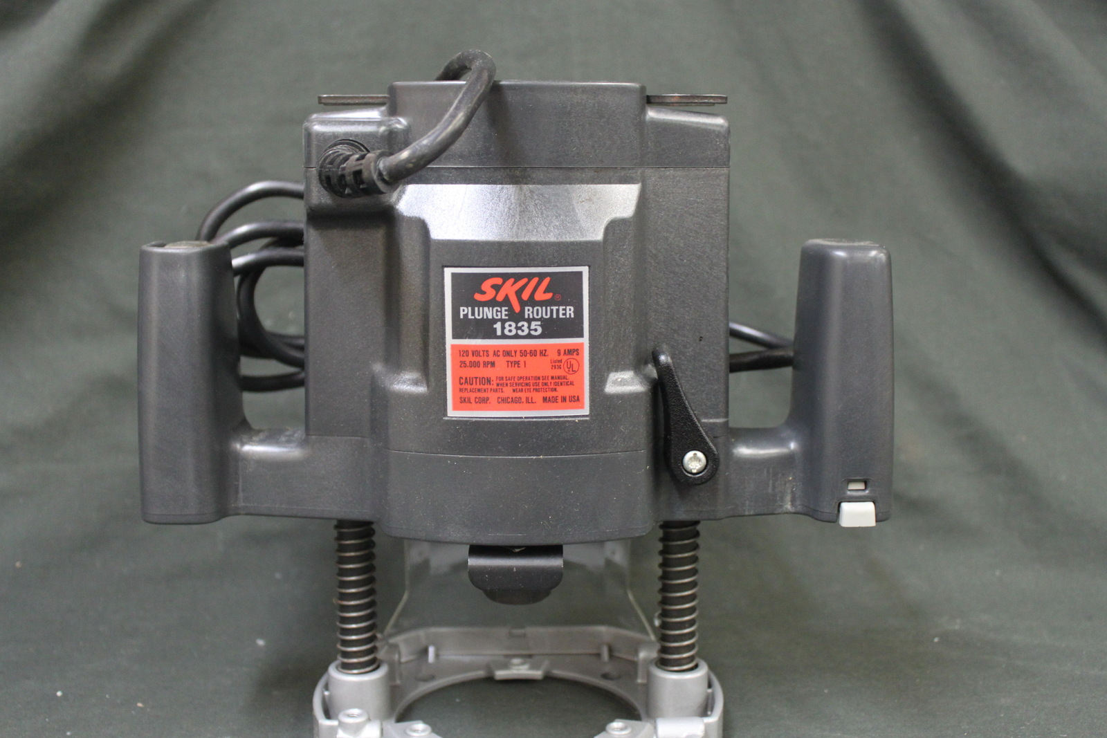 Need a manual for a skil model 1835 type 1 plunge router router.