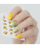 2PCS Spring Sunflower Nail Art Water Decals Stickers Transfer Manicure S... - $1.60