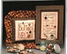 CLEARANCE Button Bonanza cross stitch chart Heart in Hand - $4.00